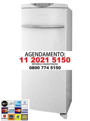 assistencia tecnica freezer Brastemp